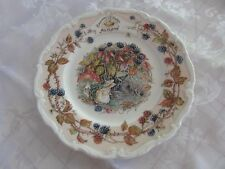 Royal Doulton Brambly Hedge The AfternoonTea Plate Autumn 15.5cm Made In England