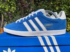 2013 Adidas Gazelle OG G16183 Blue & White Deadstock 80s Football Casuals Size 8