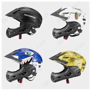 RockBros Kids Safety Helmet for Bike Scooter Bicycle Skate Board 4 in 1 Helmet