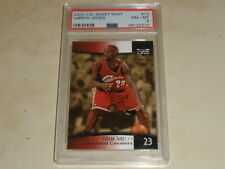 2004-05 Upper Deck Sweet Shot #13 LeBron James PSA 8 NM-MT