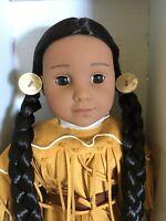 "American Girl Beforever Kaya Doll 18"" & Book New in Box"