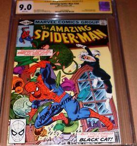 Amazing Spider-Man #204 CGC SS 9.0 SIGNED John Romita Sr Marvel 1980 Black Cat