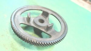Vintage- Industrial Machine Age Brass -45 degree Gear - Art -Project or Creative