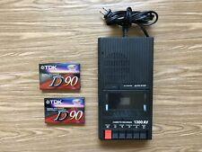 Califone 1300Av Cassette Recorder and Player Cassette Deck Tested w/ 2 Tapes