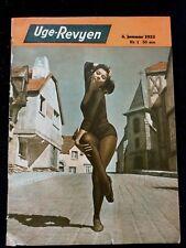 """""""UGE-REVYEN""""1953.Leslie Caron.Anita Ekberg.Donald O'Connor.Dean Martin.Durante."""