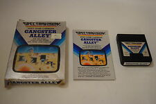 GANGSTER ALLEY Atari 2600 Video Game COMPLETE In BOX TESTED SPectravision