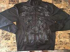 NWT Mens STRUCTURE Modern Fit Black Full-Zip Jacket - size XL