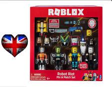 Roblox Robot Riot 4 Figure Pack Mix & Match Set Action Figure Toys Kids Gifts