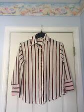 Korean Japanese Fashion Striped Blouse