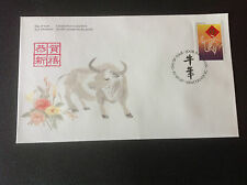 """CANADA 1997 FDC YEAR OF THE OX """" STAMP"""