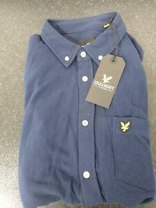 Lyle & Scott Shirt For Mens 100% Cotton Size L