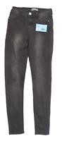 Womens Dorothy Perkins Black Denim Jeans Size 8/L28