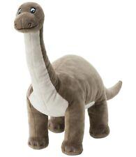 "Brontosaurus Ikea Dinosaur 22"" Stuffed Animal Toy Plush Toy Kids - Gray - Nwt"