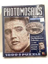 ELVIS PHOTOMOSAICS 1000 Pieces Jigsaw Puzzle by Robert Silvers Buffalo Games NEW
