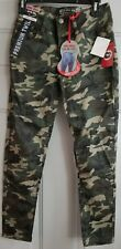 Hot Kiss Skinny Ankle Camo Girl's Pants Size 9