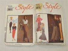 SEWING PATTERNS- FABULOUS SKIRTS & SHIRTS by STYLE- 2 packs