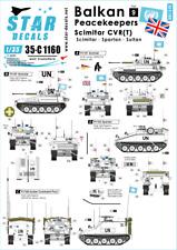 Star Decals 1/35 Balkan Peacekeepers # 9. Scimitar CVR(T) # 35-C1160