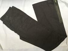 Wide Leg Cotton Cargos High Trousers for Women