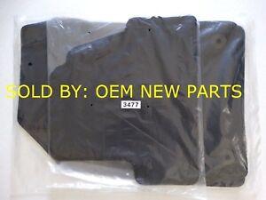 2015-2018 CHEVROLET TRAX BLACK CARPET FLOOR MATS RUGS OEM GENUINE NEW SET