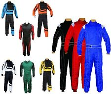 Kids Juniors Karting Suit Race Overall Suits Poly cotton Indoor & Outdoor Sizes