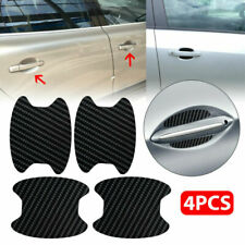 4x Carbon Fiber Car Door Handle Anti-Scratch Protector Film Scratch Sticker P (Fits: Peugeot)