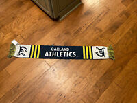 NEW Oakland Athletics Special Edition California Cal-Berkley SGA Fabric Scarf