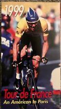 1999 Tour De France Lance Armstrong 2 VHS Tape Set An american in Paris