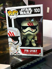 Star Wars - FN-2187 Finn with Blood Smear Funko Pop Vinyl FAST 'N FREE DELIVERY
