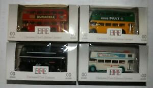 JOB LOT OF 4 EFE BUSES 4MM 1:76 SCALE