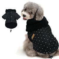 Manteau chien hiver vêtements chihuahua veste polaire à capuche Jack Russell