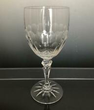 Galway Shannon Clear Crystal Water or Wine Goblet Glass 13 OZ