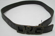 - AUTHENTIQUE  ceinture XL  DOLCE & GABBANA Junior cuir  TBEG  vintage  à saisir