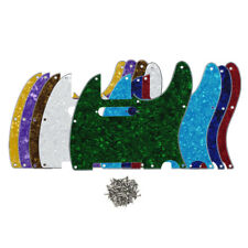 Tele Guitar Pickguard Scratch Plate 8 Holes Pick Guard for Tele Style Guitar