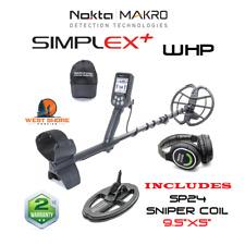 """Nokta Simplex WHP Metal Detector  -  INCLUDES  9.5""""x5""""  SP24 Sniper Coil"""
