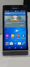 SONY XPERIA M4 AQUA 8GB-Sbloccato-Nero-Telefono Cellulare Smartphone