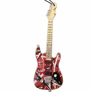 EVH Eddie Van Halen Frankenstein Mini Guitar Collectible Ornament 6 Inches Tall