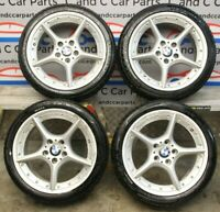 """BMW 18"""" Alloy Wheel Set Style 108 7.5mm Altimax Tyres Front & Rear 6758195 14/1"""