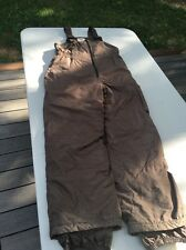 Youth Medium Gander Mountain Brown Bibs For Hunting Or Skiing. Warm!!