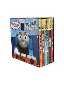 Thomas the tank engine and Friends Super Library 6 Book Set Collection - GIFT
