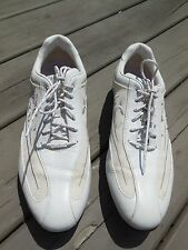 Women's Callaway White Golf Oxford Shoes cleats Size US 5.5  NO LACES