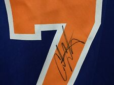 075bf6865 CARMELO ANTHONY SIGNED NEW YORK KNICKS REPLICA BLUE JERSEY XL STEINER COA