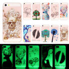 Patterned Lot Ultra Thin Soft TPU Glow In The Dark Case Cover For Samsung Galaxy