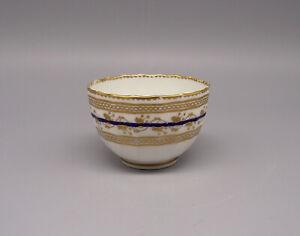 18thC Derby Porcelain Fluted Tea Bowl circa 1790