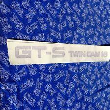 1986-87 USDM Toyota Corolla GT-S OEM Door Decal Stickers AE86 (PAIR) Authentic