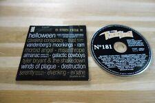 HELLOWEEN - TRUST  RAM - MORBID ANGEL - MISANTHROPE - CD ROCK HARD 181