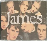 JAMES sound (CD, single, 1991) indie rock, house, very good condition, Fontana