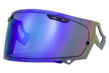 Arai Helmet Extra Mirror Shield Vas-V Mv Shield Smoke Blue for Rx-7X Motorcycle
