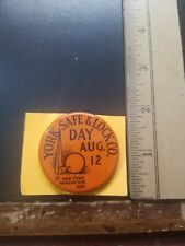 York Safe & Lock Company Day, August 12, 1939 New York Worlds Fair Pin