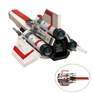 Colonial Viper MK1 Space Ship Version 2.0 Building Blocks Toys for Collection