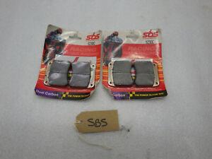 SBS 523DC Dual carbon brake pads AP Racing calipers